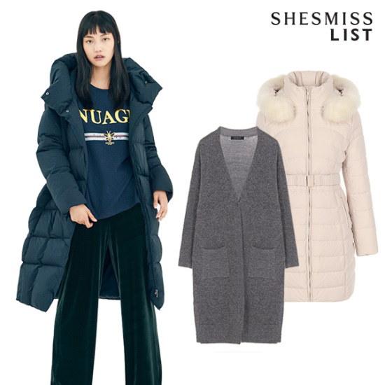 スィジュミススィジュミス均一価格冬の衣類均一家電85パディングコート外 ニット/セーター/ニット/韓国ファッション