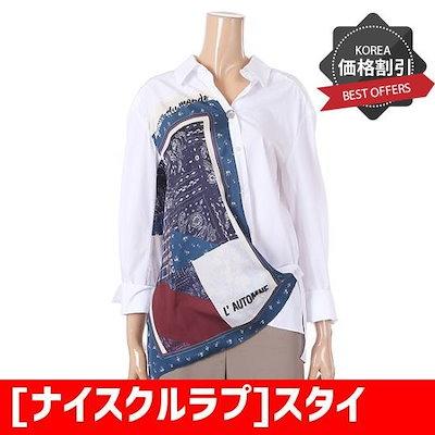 [ナイスクルラプ]スタイリッシュなプリントブラウス(N183MWB822) /プリントシャツ/ブラウス/シャツ/韓国ファッション/
