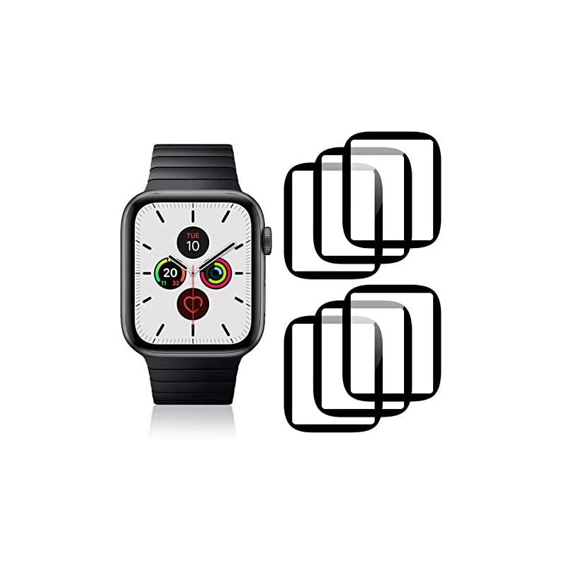 【即納】Apple Watch Series 6 / SE / 5 / 4 44mm フィルム Ossky 保護フィルム TPU製 全面カバー 高透過率 耐指紋 キズ修復 貼り付け簡単 アップルウォッ