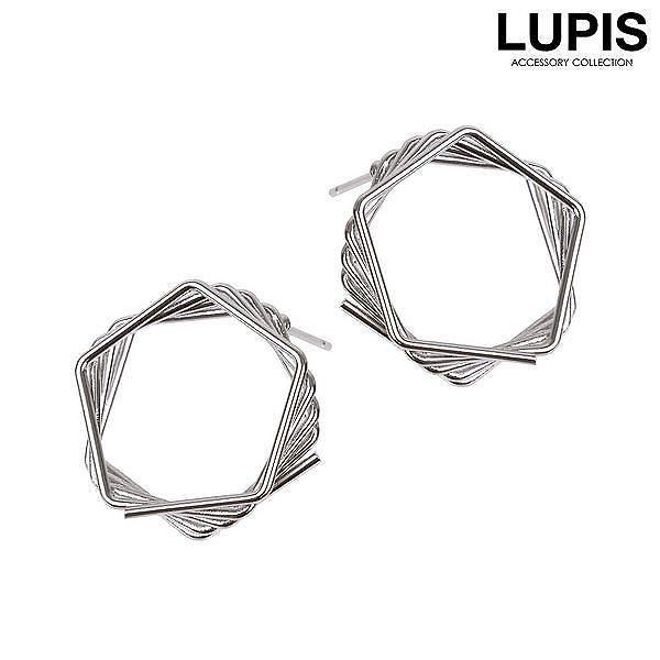 スクエアステップフレームリング【リング レディース 指輪 ゴールド シルバー 個性的 激安 ルピス LUPIS】