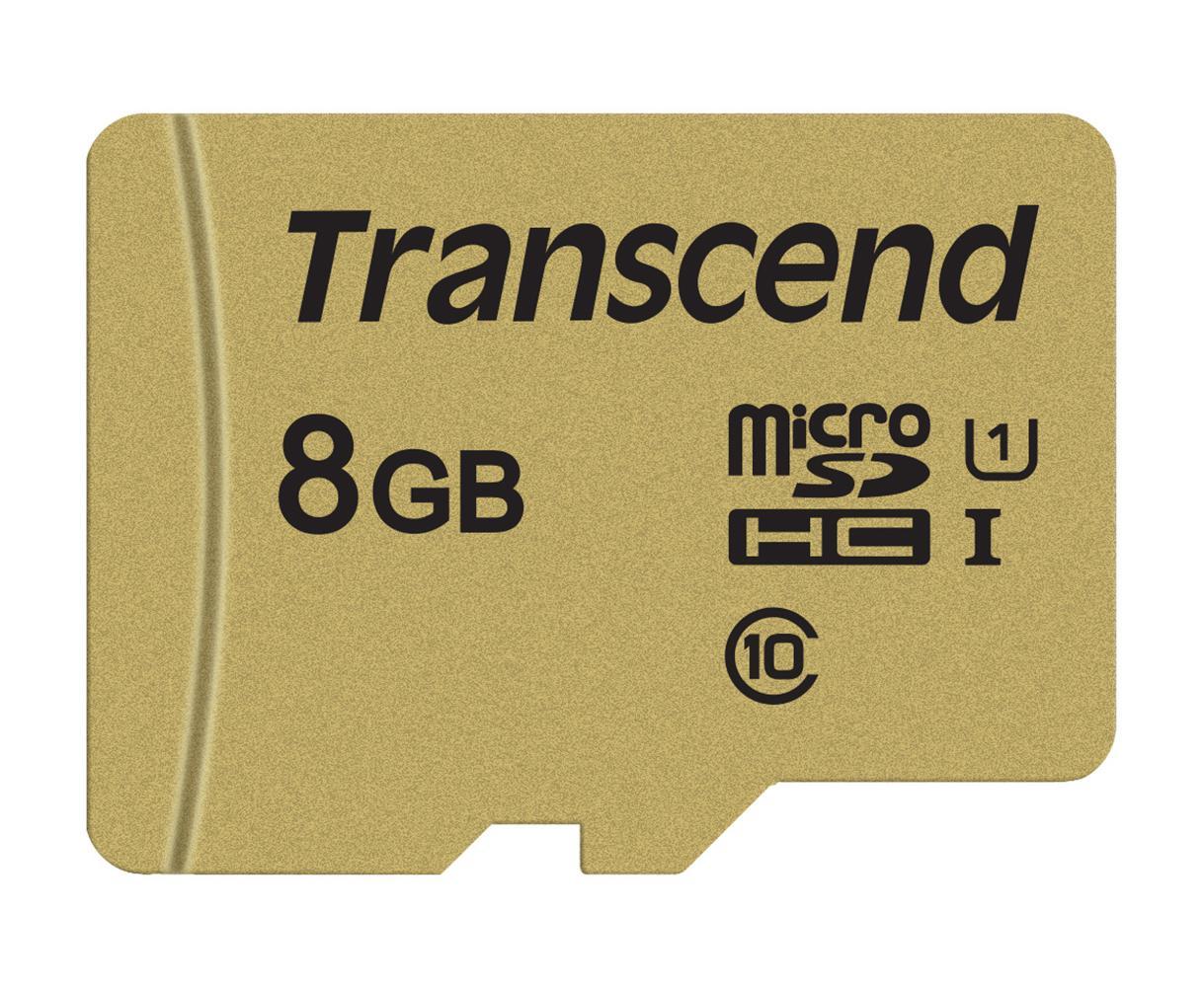 【正規国内販売代理店】トランセンド 8GB UHS-I U1 microSDHCカード TS8GUSD500S