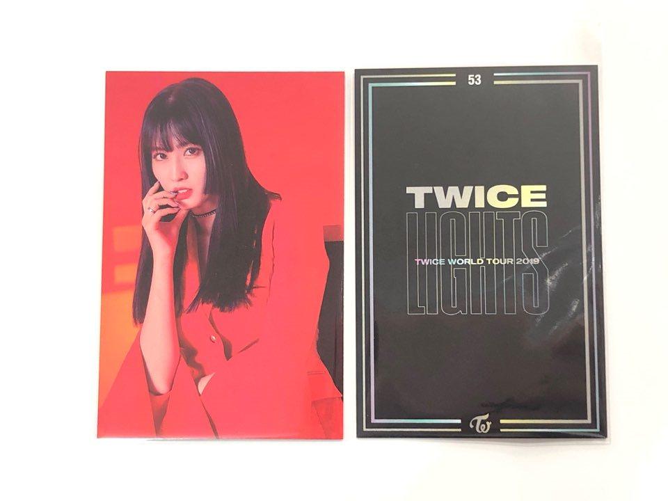 【ばら売り・即日】 TWICE LIGHTS 公式 トレーディングカード 【 NO.53 】