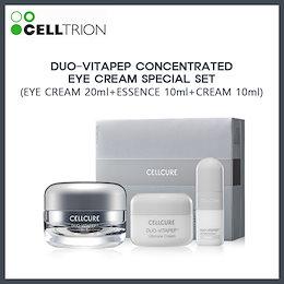 [CELLTRION][CELLCURE] DUO-VITAPEP CONCENTRATED EYE CREAM SET(EYE CREAM 20ml+ESSENCE 10ml+CREAM 10ml)