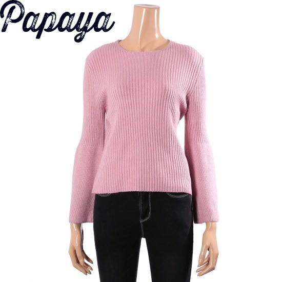 パパイヤ小売ラッパニットティーCNGRTP047D ニット/セーター/韓国ファッション