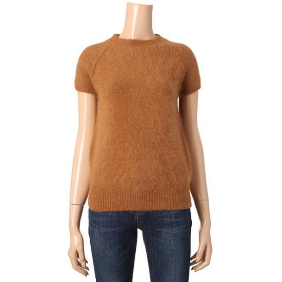 マロンジェイ半そでアンゴラNTJC11NT018A ニット/セーター/韓国ファッション