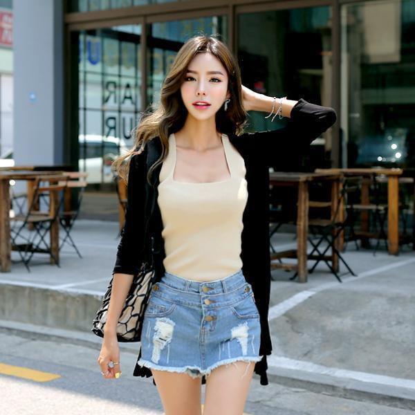 バーディーロングカディゴンnew 女性ニット/カーディガン/韓国ファッション