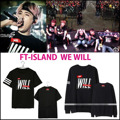 FT-ISLAND LEEHONGGI WE WILL Tシャツ トレーナー パーカー/ アリーナツアー/FT-ISLAND