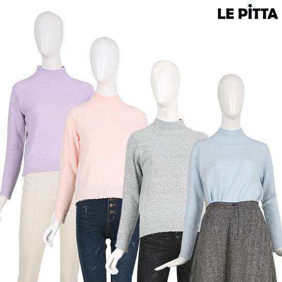 [ルピタ】パステルアンバランス半ポーラニットL161USW103 ニット/セーター/韓国ファッション