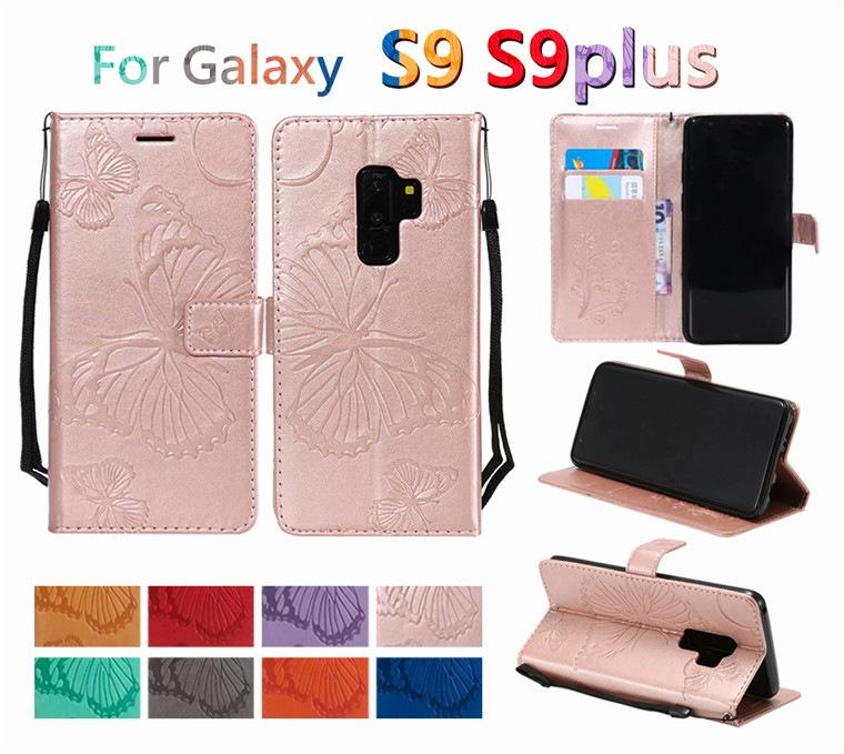 Galaxy S9 SC-02K SCV38 手帳型ケース蝶柄 GalaxyS9+ SC-03K SCV39 カバー スマホケース カード収納 スタンド機能 マグネット オシャレ かわいい case