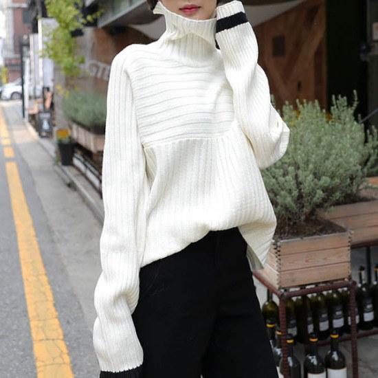 シーフォックスシーフォックスダイアログknitニート ニット/セーター/タートルネック/ポーラーニット/韓国ファッション