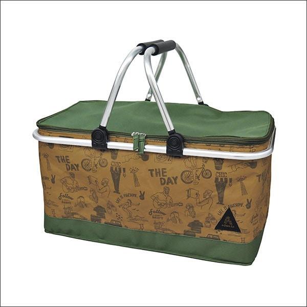 タイベッククーラーバスケット SAS-1840■タイベック 保冷バスケット クーラーバスケット 保冷バッグ クーラーバッグ