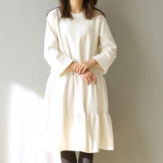 ビナインホームズ起毛ワンピース 綿ワンピース/ 韓国ファッション
