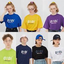 ♥2018大人気♥7.10更新、最低価格に挑戦する 高品質5252 OIOI 5.B.O.★ulzzang原宿系 tシャツ/chic可愛い/韓国ファッション/Tシャツ/キュートな半袖/男女兼用tシャツ