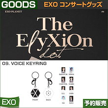 9. VOICE KEYRING / EXO THE PLANET#4 OFFICIAL GOODS / 1807exo /2次予約/送料無料