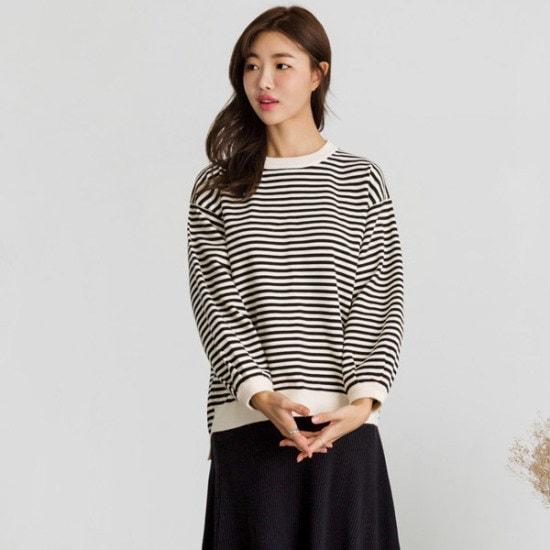 るみさんマレッ・バルーンダンカラ・ニット ニット/セーター/ニット/韓国ファッション