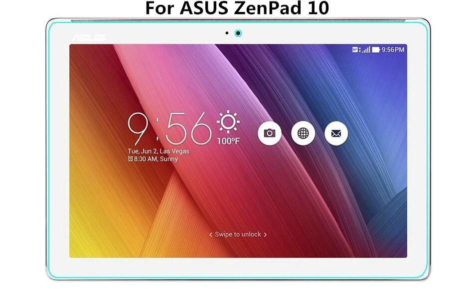 ASUS ZenPad 10 Z301MFL用液晶保護フィルム/タブレット用保護シート/保護シール/非光沢【管理番号:F982】
