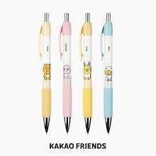 【Kakao friends】カカオフレンズシャープペンシル2個セット/Kakao friends sharp pencil 2p set/4種・0.5mm・14X145㎜