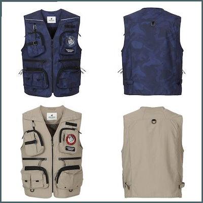 [ウェストウッド][金額別謝恩]男性ポケットの取り外し釣りベストWJ1MTVT613 /ベスト/チョッキ/韓国ファッション