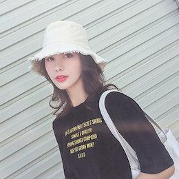 🔥FashionDay超特価🔥【ANDSTYLE】韓国ファッション/ナチュラルコットンバケットハット/こなれ感演出 普段使いにおすすめ_240549