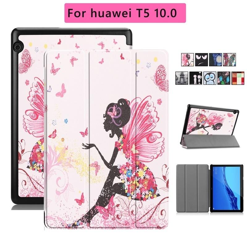 HUAWEI MediaPad T5 10.1(AGS2-W09/AGS2-L09)専用ケース J:COM タブレット保護カバー ファーウェイメディアパッドT5良質PUレザー手帳型ケースI709
