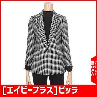 [エイビープラス]ピッラインがきれいなチェックのジャケット(LSS4JJ09J) /テーラードジャケット/ 韓国ファッション