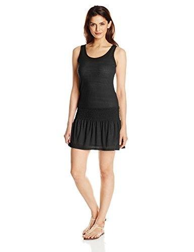 prAna Womens Zadie Dress, Black, X-Small