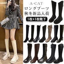 2021新品入荷ブーツ 秋冬定番韓国ファッション/レディースファッション/厚底 靴 人気ブーツ 美脚