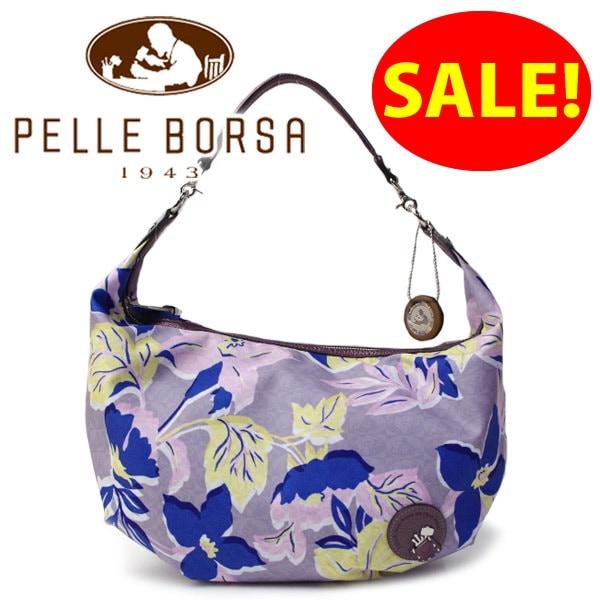 ペレボルサ PELLE BORSA バッグ レディース ショルダーバッグ Monogram Flower モノグラムフラワー 2Wayバッグ 4362 ピンク
