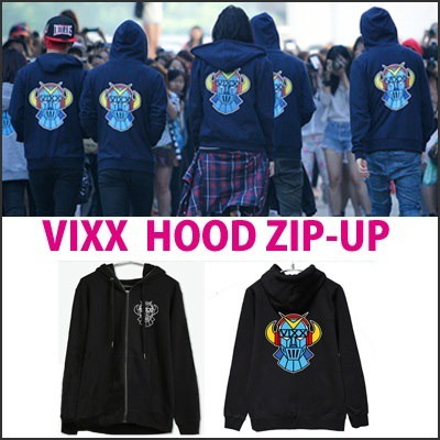VIXX SUPER HERO HOOD ZIP-UP/ パーカー/トレーナー /SUPER HERO/Rock Ur Body/N / LEO / KEN / RAVI / VIXX /グッズ/トップ/マンツーマン/