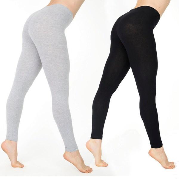 セクシーな女性の新しいスリム弾性ソリッドカラーローウエストレギンスズパンツ女性のズボン