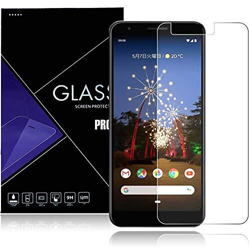 Google Pixel 3a フィルム 強化ガラス 液晶 保護フィルム Pixel 3a ガラスフィルム Google Pixel 3a に対応 厚さ0.33� 硬度9H 気泡ゼロ