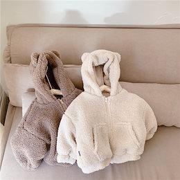 2020年秋冬の新しい子供服、男の子と女の子の韓国のウールのコート、暖かい綿のコート