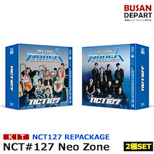 【日本国内発送】【KIT Ver 2種セット】【ポスター無しでお得】NCT127 正規2集 repackage[Neo Zone:The Final Round]チャート反映和訳付 1次予約 送料無料