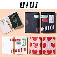 【OIOI】GS25 x oioi Collarboration/パスポート財布/カード入れ/ミニポーチ/3カラー/韓国限定版/ Passport wallet