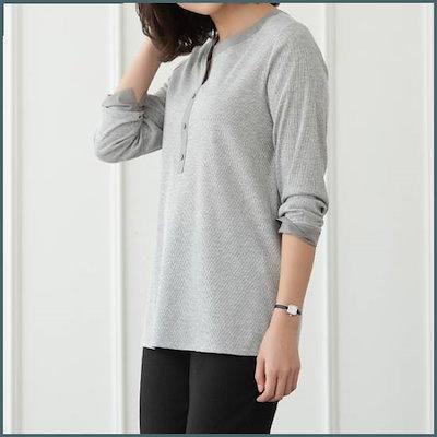 [ビルド]BJST534スリムラウンド塔/ビッグサイズ/ミッシー/女性/春 /トップ/ノースリーブTシャツ/ 韓国ファッション