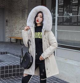 人気新作!2019冬 新作 コート レディース 冬 coat ダウンコート 防寒 帽子付き 大人 暖かい 上品 厚手 アウター