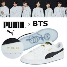 新作!★【PUMA正規品】★ 防弾少年団 BASKET PATENT BTS★ MADE BY BTS ♥