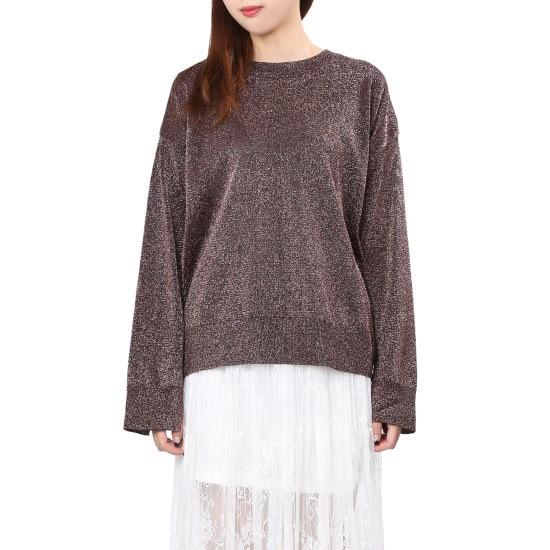 ラブLAPメタルルーズフィットプルオーバーAH4KH860 ニット/セーター/韓国ファッション