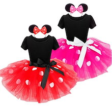 ハロウィン コスプレ 子供 ワンピース リボン トッド柄 ドレス 子どもドレス 女 可愛い キッズ スカート 子供服 女の子用 カチューシャ付き 2点セット