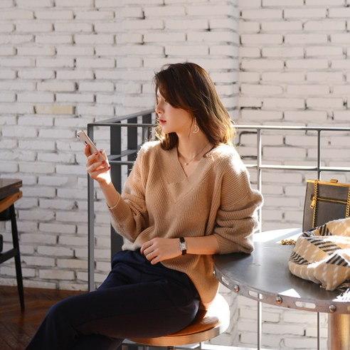 さらにムードH545ウェイト哺乳ニットkorean fashion style