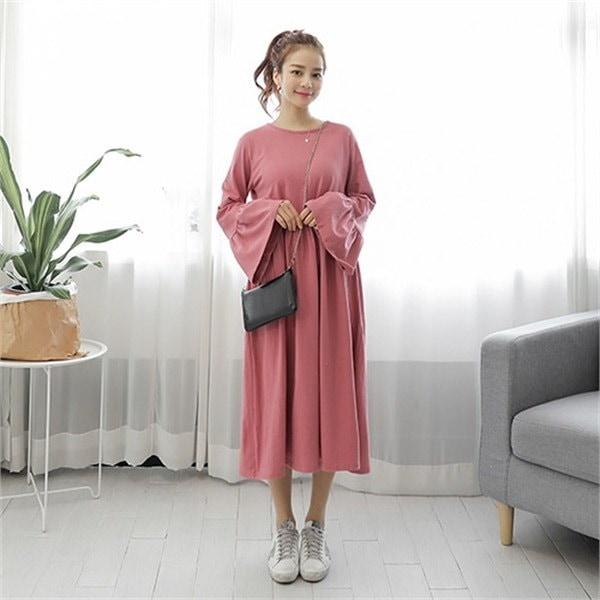 イルランイルランワンピースnew フレアワンピース/ワンピース/韓国ファッション