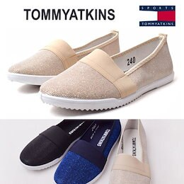 [TOMMY ATKINS] [今日一日だけ特価セール!] SNSで話題のスニーカーが特価で登場!!有名セレブ愛用 カジュアルコンフォート スニーカー韓国ファッション