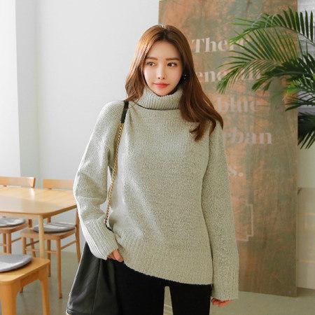 [Tom n Rabbit]アモールポーラニットタートルネックボカシデイリーベーシックkorean fashion style