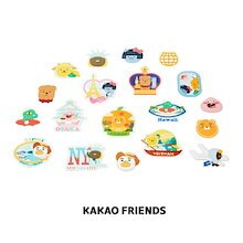 【Kakao friends】カカオフレンズ・リトルフレンズスーツケースデコシール/Little friends suit case deco sticker/8種・KAKAO FRIENDS正規品