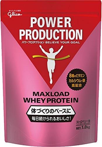 パワープロダクション マックスロード ホエイプロテイン ストロベリー味 1.0kg