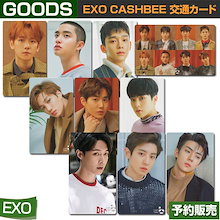EXO CASHBEE 交通カード / SEVEN ELEVENコンビニ 日本国内配送/1次予約/送料無料