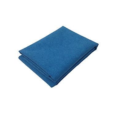 ヨガタオルノンスリップファブリックポリ/コットン合成繊維パッド入りファブリック合成繊維