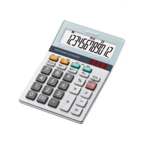 【オススメ】 SHARP 電卓 12桁 ミニナイスサイズ グリーン購入法適用 早打ち/サイレントキー EL-M712K-X