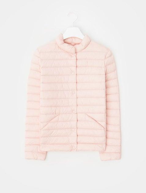 8SECONDS Lightweight Down Quilting Short Jacket – Salmon Pink