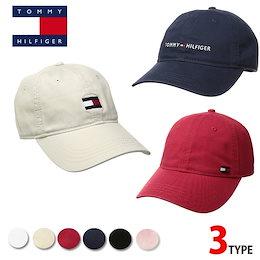 トミーヒルフィガー ベースボールキャップ 帽子 CAP HAT TOMMY HILFIGER t481 ブラック ネイビー ホワイト 15タイプ